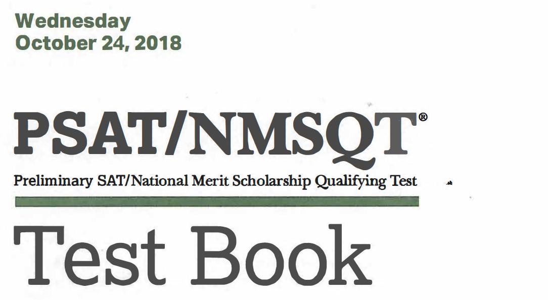 October 2018 PSAT Test - 10-24-2018